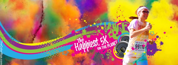 Color Run banner
