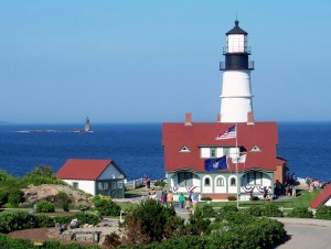 Portland Headlight with Ram Island Ledge 2