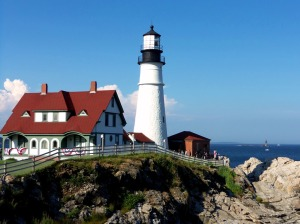 Portland Headlight with Ram Island Ledge 4