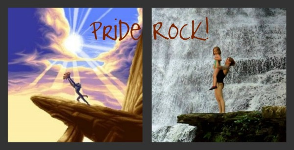 Pride Rock Collage