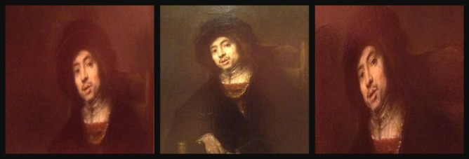 Rembrandt Portrait of a Young Man in an Armchair