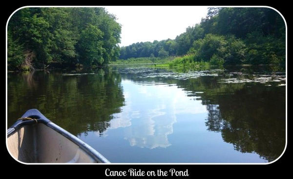 Canoe Ride on the Pond