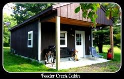 Feeder Creek Cabin Framed
