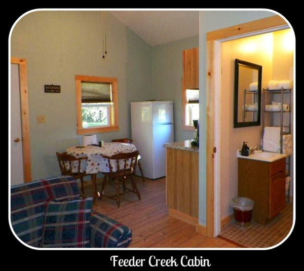 Feeder Creek Cabin Interior