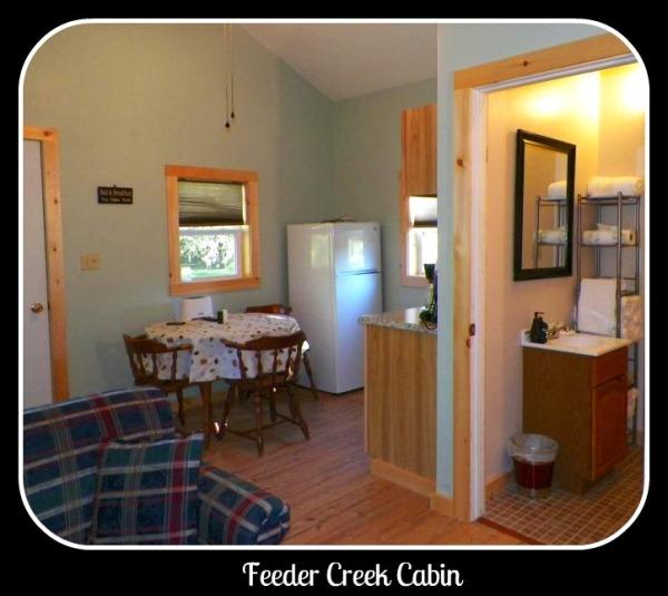 Feeder Creek Cabin Interior