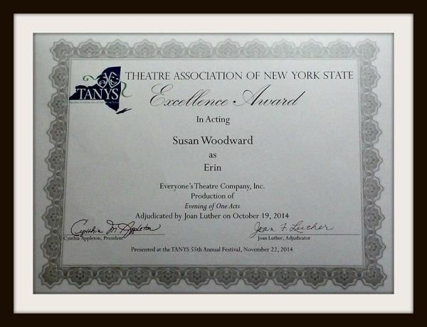 TANYS award